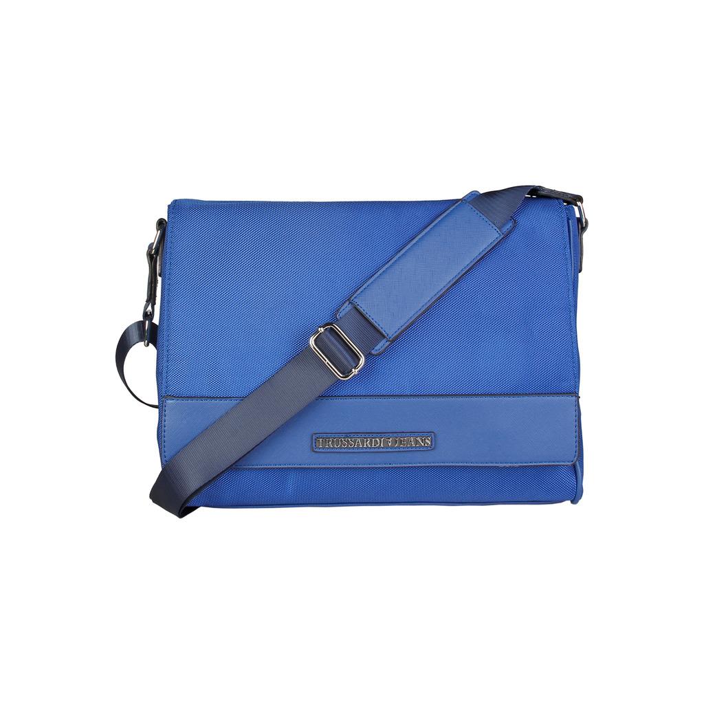 Pánska aktovka Trussardi crossbody blue  7df81f71753