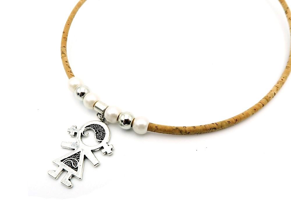 mB UNISEX náhrdelník korok Postavičky 551  16bd4389a07