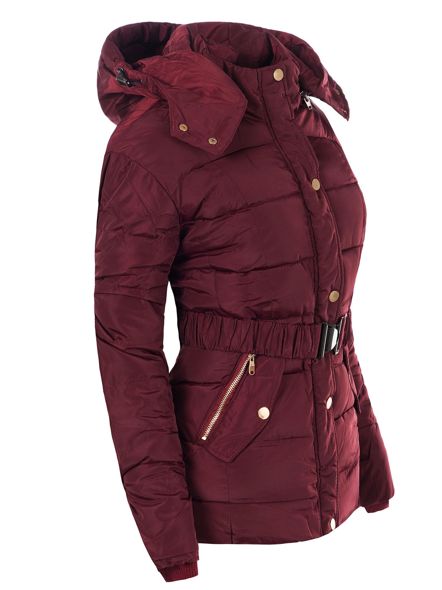 1a3563fdced8 Dámska zimná bunda prešívaná 4 farby 9001 -