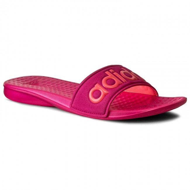 Dámske šľapky Adidas Carodas W magenta  5cf4967255f