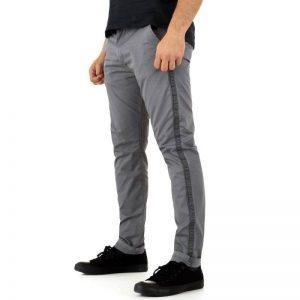 4490bddf8dae ... Pánske nohavice casual pohodlné Otto FK2872 sivé ...