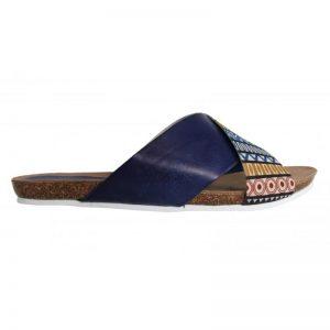 871af03e4f83 Rýchly náhľad. Dámske kožené šľapky sandále Cumbia G30141 blue