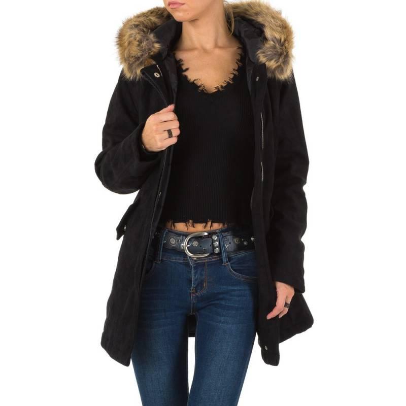 Dámska zimná bunda s kožušinou FK280 3 farby  111384b2c33