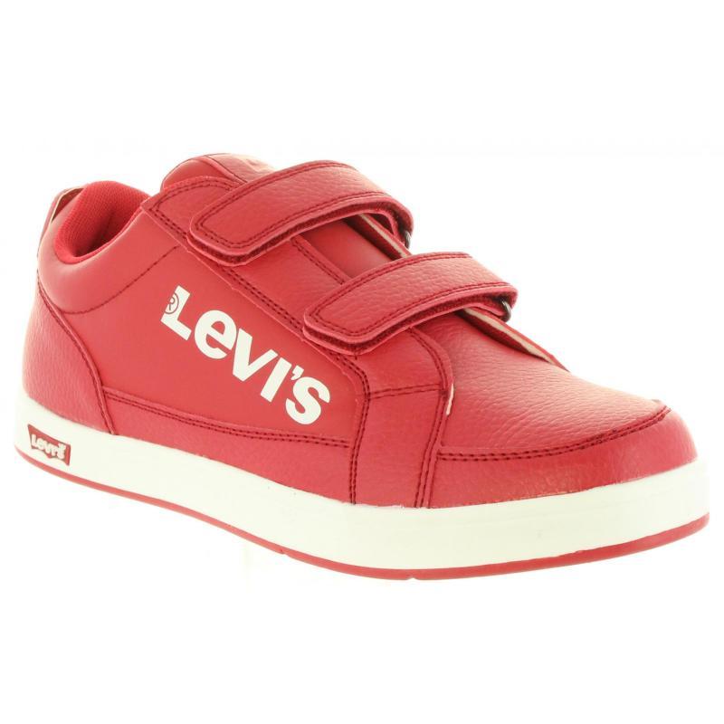 Detské dámske športové tenisky LEVIS low top G250 červené  024a7d5573