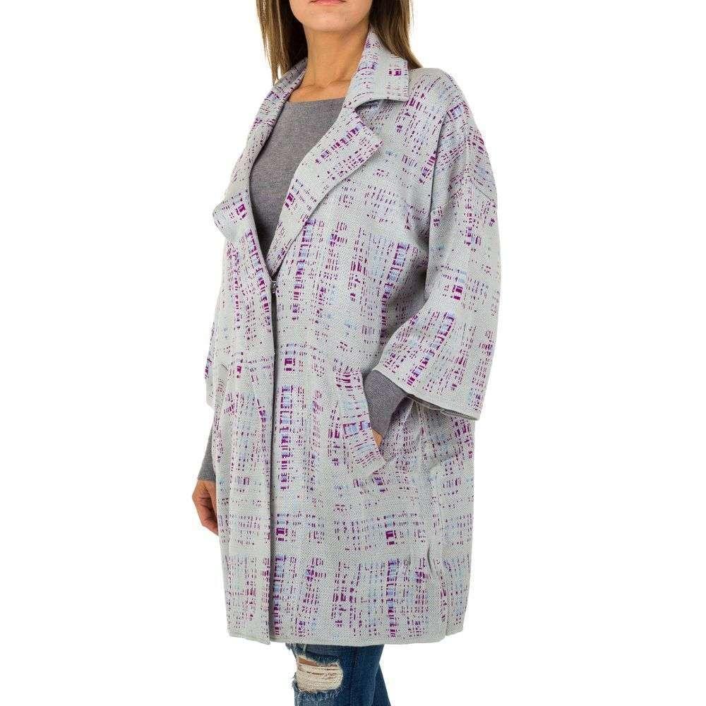 132daffad185d Dámsky kabát sako cardigan oversize print fashion 57025SW160