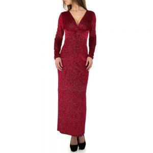 42ecef7ecb54 ... Dámske šaty metalic spoločenské dlhé priliehavé MU-1050SW160 3 farby ...